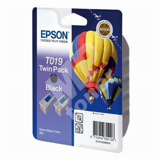 Inkoustová cartridge Epson C13T019402 color, originál