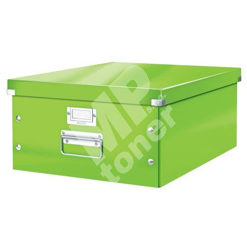 Archivační krabice Leitz Click-N-Store L (A3), zelená 1