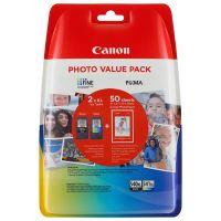 Inkoustová cartridge Canon PG-540XL, CL-541XL + fotopapír, CMYK, originál