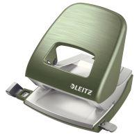 Celokovová stolní děrovačka Leitz NeXXt Style 5006, zelenkavá