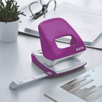 Stolní děrovač Leitz NeXXt 5008, 30 listů, purpurový 5
