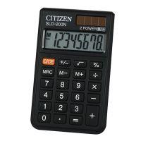Kalkulačka Citizen SLD200NR, černá, kapesní, osmimístná
