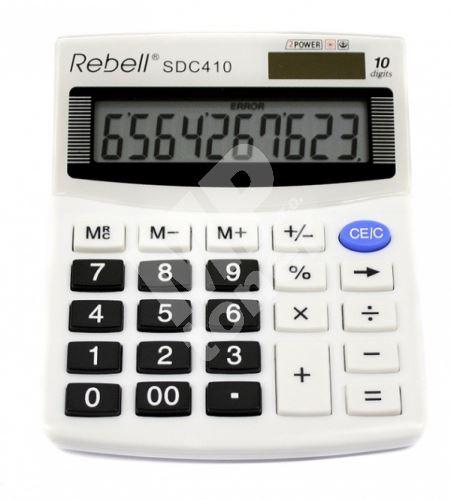 Kalkulačka Rebell SDC 410