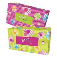 Linteo Satin papírové kapesníčky dvouvrstvé krabička 200 ks