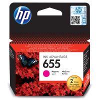 Inkoustová cartridge HP CZ111AE, Deskjet 3525, 5525, 6525, 4615, magenta, No.655, originál