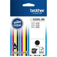 Inkoustová cartridge Brother LC-529XLBK, DCP-J100, DCP-J105, MFC-J200, black, originál