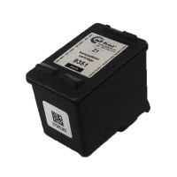 Renovace cartridge HP C9351A černá, No. 21, 18ml