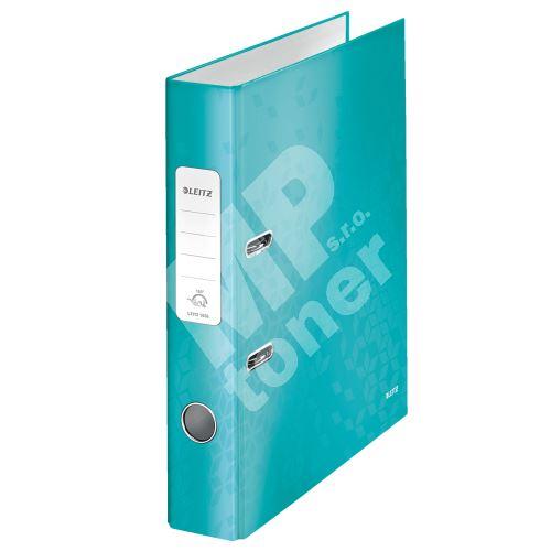 Pákový pořadač 180 Wow, ledově modrá, 52 mm, A4, PP/karton, LEITZ 1