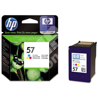 Cartridge HP C6657AE No. 57, originál 1