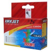 Kompatibilní cartridge Canon BCI-6BK černá Logo