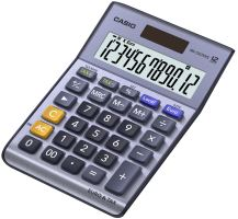 Kalkulačka Casio MS 120 TER II, stříbrná