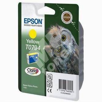 Cartridge Epson C13T079440, yellow, originál 1