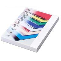 Kartónové desky pro zadní strany Delta A4, 230 g, bílá, 100 ks