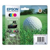 Inkoustová cartridge Epson C13T34764010, WF 3720DWF, 3725DWF, CMYK, 34XL, originál