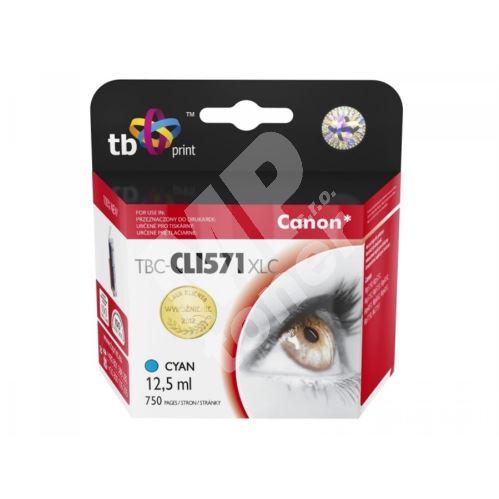 Cartridge Canon CLI-571C XL, cyan, TB 1