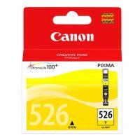 Inkoustová cartridge Canon CLI-526Y, Pixma MG5150, MG5250, MG8150, yellow, originál