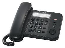 Telefon Panasonic KX-TS 520FXB černý