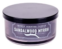 DW Home Vonná svíčka ve skle Myrta a santalové dřevo - Sandalwood Myrrh, 4,6oz