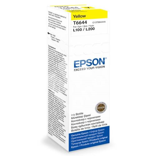 Cartridge Epson C13T66444A, yellow, originál 1
