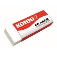 Pryž Kores Eraser KE20, bílá