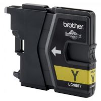 Inkoustová cartridge Brother LC-985Y, DCP-J315W, yellow, originál