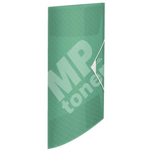 Desky s gumičkou Esselte Colour Ice, zelená, 15 mm, PP, A4 1