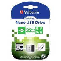 32GB Verbatim Nano Store'n'Stay, USB flash disk 2.0, 98130, černá