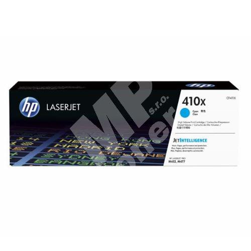 Toner HP CF411X, cyan, 410X, originál 1