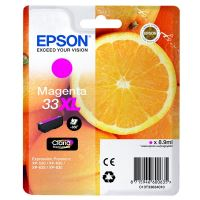 Inkoustová cartridge Epson C13T33634012, Expres. Home XP-530, magenta, 33XL, originál
