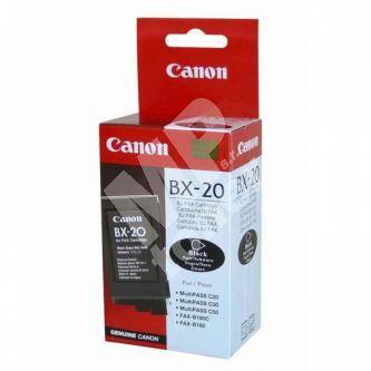 Inkoustová cartridge Canon BX-20 černá, BX20, originál
