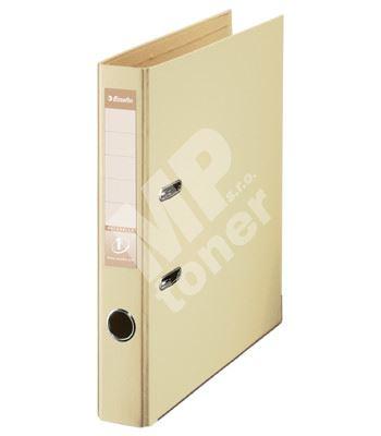 Pákový pořadač Esselte No. 1 Power z PVC A4 50 mm, krémový 1