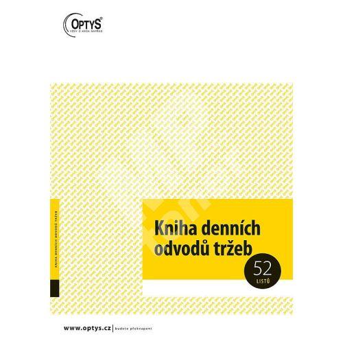 Kniha denních odvodů tržeb A4 sešit - 52 listů, OP1095 1