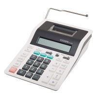 Kalkulačka Citizen CX32N, bíločerná, dvanáctimístná s tiskem, dvoubarevný tisk