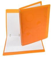 Poznámkový blok Neo Colori A4 Karisblok barevný, průhledný, oranžový