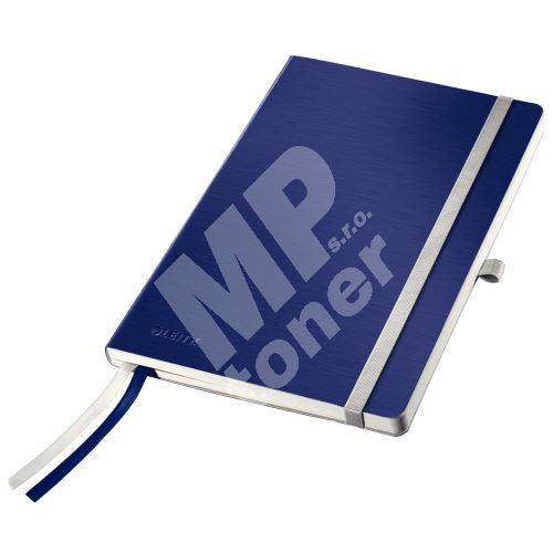 Zápisník Leitz STYLE A5, měkké desky, linkovaný, titanově modrý 1