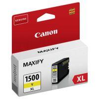 Inkoustová cartridge Canon PGI-1500XL, Maxify MB2050, MB2350, yellow, originál