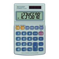 Kalkulačka Sharp EL250S, šedo-modrá, kapesní, osmimístná