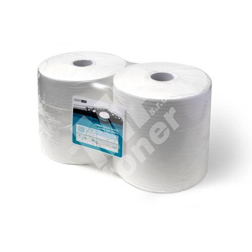 Papír toaletní v roli JUMBO šíře 240 mm, bílý (celuóza) 2
