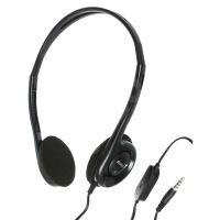 Genius HS-200C, sluchátka s mikrofonem, černá, 3.5 mm jack