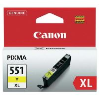 Inkoustová cartridge Canon CLI-551Y XL, iP7250, MG5450, MG6350, yellow, originál
