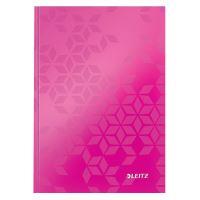 Zápisník A5 Leitz WOW, linkovaný, růžový