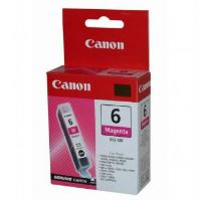 Inkoustová cartridge Canon BCI-6M, červená, originál