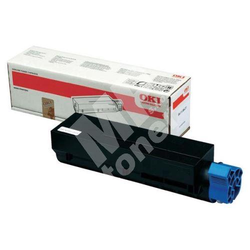 Toner OKI 45807111, black, originál 2