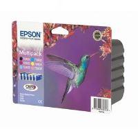 Inkoustová cartridge Epson C13T080740 sada, CMYK, originál