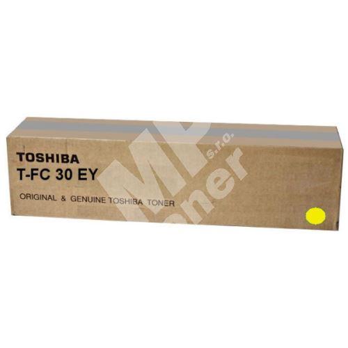 Toner Toshiba T-FC30EY, yellow, originál 1