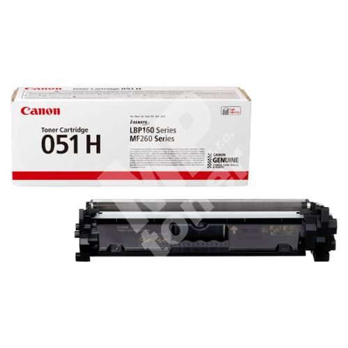 Toner Canon CRG 051H, i-SENSYS LBP162, MF264, 2169C002, black, originál
