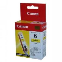 Inkoustová cartridge Canon BCI-6Y, žlutá, originál