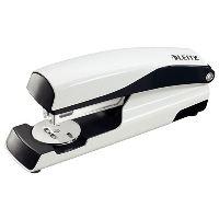 Stolní sešívač Leitz NeXXt WOW 5502, perleťový bílý