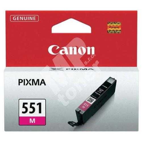 Cartridge Canon CLI-551M, magenta, 6510B001, originál 1
