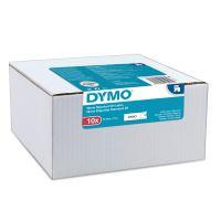 Páska Dymo D1 12 mm x 7m, černý tisk/bílý podklad, 2093097, 10ks